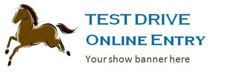TEST DRIVE Online Entry - Main-Events