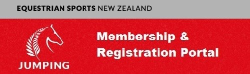 Jumping NZ Membership & Registrations 2016 - 2017