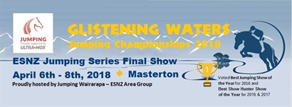Glistening Waters & ESNZ Jumping Series Final Show 2018