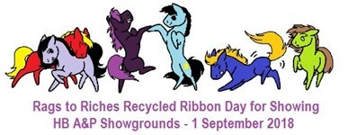 "HB A&P - ""Rags to Riches"" Recycled Ribbon Day"