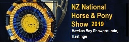 NZ National Horse & Pony Show 2019