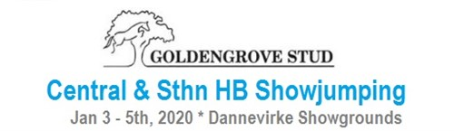 Goldengrove Stud CENTRAL & STH HB JUMPING SHOW (incl WC)