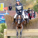 Sam Felton & RR Pico Boo on cross country at Werribee.